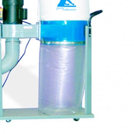 10 sacs de récupération plastique à copeaux D. 370 mm x L. 700 mm pour FM230L1 - AB-SP090 - Jean l'ébéniste