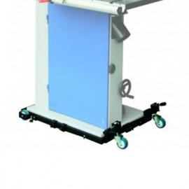 Kit de déplacement pour machines 300 kg maxi. - UNI-FE1 - Jean l'ébéniste