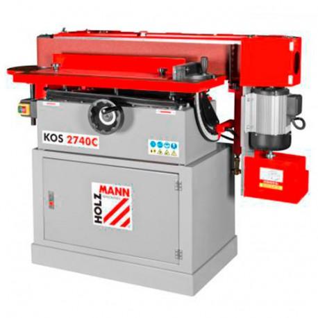 Ponceuse à bande oscillante 2740 x 150 mm 400V 2200W - HO-KOS2740C-400V - HOLZMANN