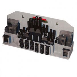 Assortiment de 52 pcs de serrage 14 mm M12 pour tour métaux - 52TLG14 - HOLZMANN