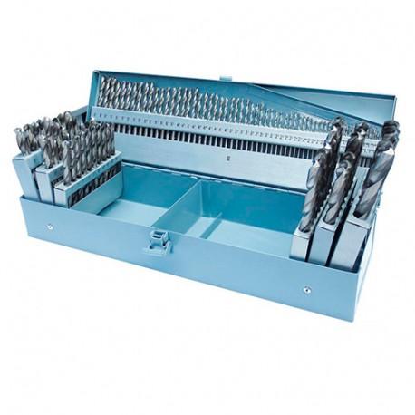 Coffret 118 forets métal HSS de 1 à 13 mm - SPS118 - HOLZMANN