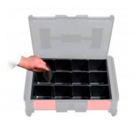 Séparateurs de 3 à 12 divisions pour les coffrets BoxOnBox - BOXBL312 - Alsafix