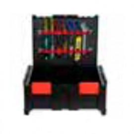 Panneau d'outil pour le couvercle des coffrets BoxOnBox - BOXP1 - Alsafix