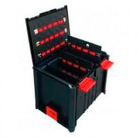Coffret BoxOnBox 3 L. 400 x l. 300 x Ht. 312 mm (intérieur) avec séparateurs - BOXSSC3P22 - Alsafix