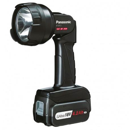 Lampe PANASONIC sans fil 14,4/18/21,6 V 4,2 Ah Li-ion (sans batterie, ni chargeur) - EY37C1B - Alsafix