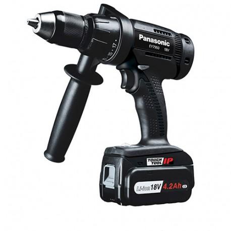 Perceuse Visseuse sans fil à percussion PANASONIC 18 V (sans batterie, ni chargeur) - EY7950X - Alsafix