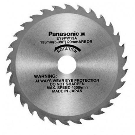 Lame bois D. 135 x 20 mm x Z 24 dents pour scie circulaire EY45A2L - EY9PW13A - Alsafix