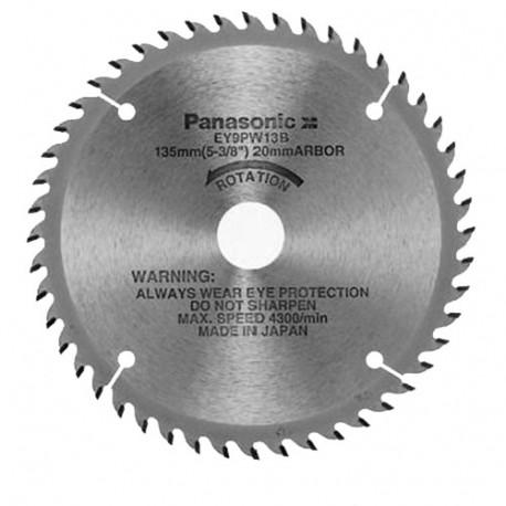 Lame bois D. 135 x 20 mm x Z 48 dents pour scie circulaire EY45A2L - EY9PW13B - Alsafix