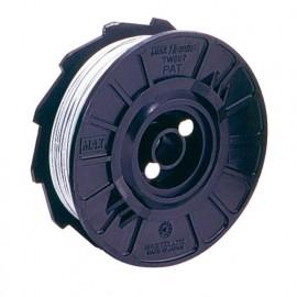 50 bobines de fil D. 0,8 mm en acier brut TW898 pour ligatureuse RB218 et RB398 - TW90514 - Alsafix