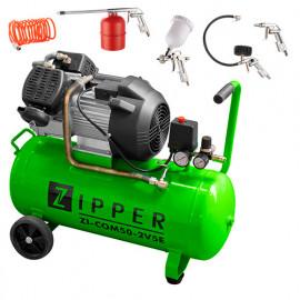 Compresseur 50 litres électrique 2200 W ZI-COM50-2V5E ZIPPER