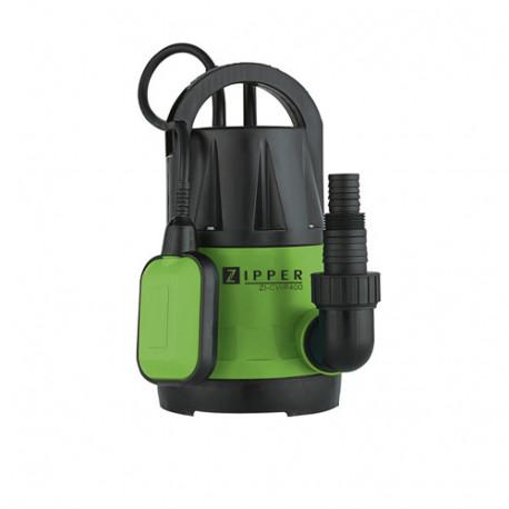 Pompe à eau claire immergée 7,3 M3 électrique 400 W ZI-CWP400 - Zipper