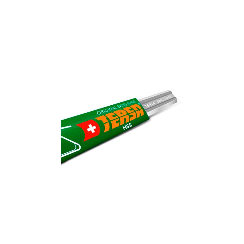 - Diamwood Platinum Diamwood Platinum Fer de d/égauchisseuse//raboteuse Green Line 410 x 25 x 2.5 mm acier HSS 18/% le fer