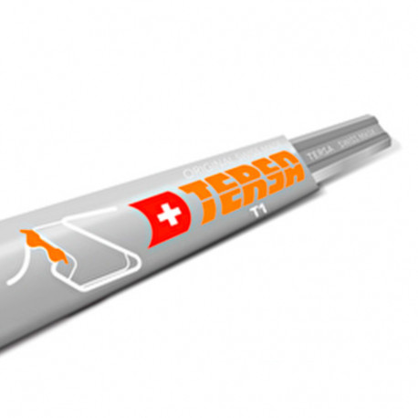 Fer réversible TERSA T1 100 x 10 x 2,3 mm (le fer) - TERSA - T1100