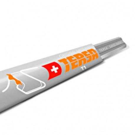 Fer réversible TERSA T1 640 x 10 x 2,3 mm (le fer) - TERSA - T1640