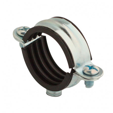 100 colliers de plomberie premium simple isophonique D. 14 mm - CSIPLUS14 - Scell-it
