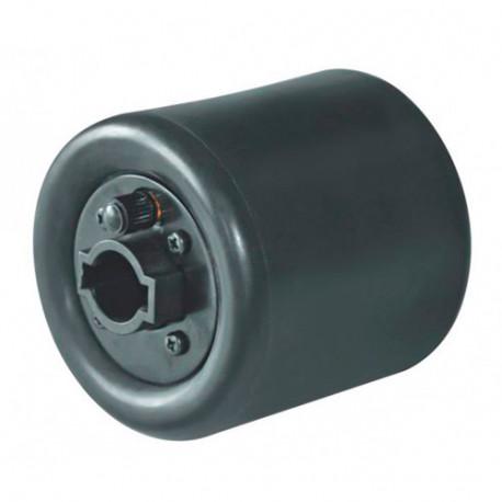 Rouleau caoutchouc à expansion gonflable D. 90 x 100 x Al. 19 mm pour satineuse SM100 - SM100EW-AUFBLASB - Holzmann