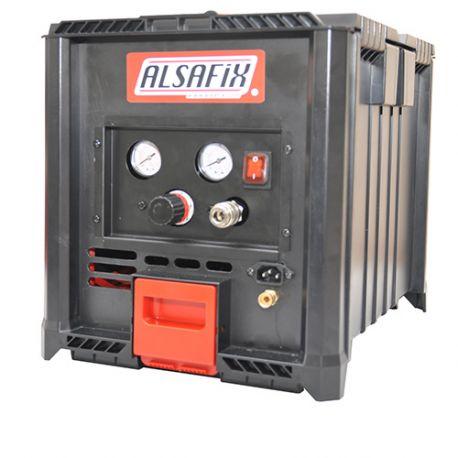 Compresseur silencieux 3,2 litres 230 V 0,33 CV ALAIR BOX - AL57155 - Alsafix