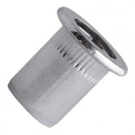 100 écrous à sertir crantés acier zingué TP, D. M8 x 20 mm - TCD0855 - Scell-it