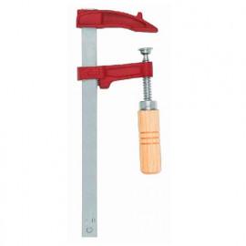 Serre-joint à vis manche bois 18 x 7 mm x L. 12 cm de type MM - 02012 - Piher