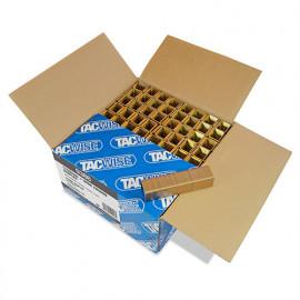 10 000 agrafes à couronne large L. 25 mm type 17 - Tacwise - 0386