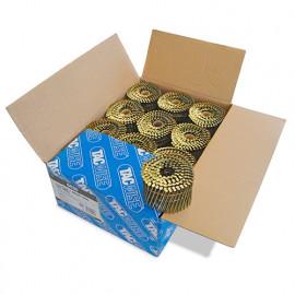 Boîte de 6000 clous à tête plate, annelés en rouleau D. 2,7 x 75 mm - Tacwise - 0430
