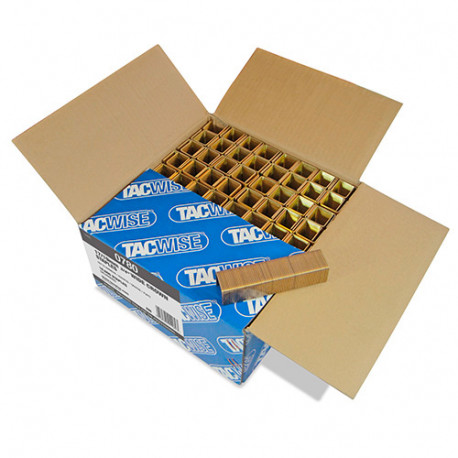 10 000 agrafes à couronne large L. 19 mm type 17 - Tacwise - 0780