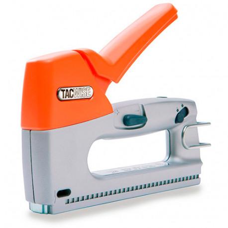 Agrafeuse cloueuse manuelle Z3-140 en métal, agrafes type 140 et clous calibre 180 - Tacwise - 0806