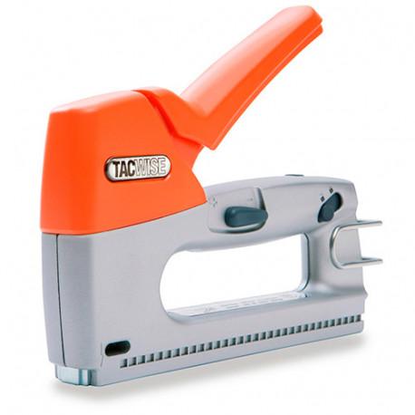Agrafeuse cloueuse manuelle Z3-53 en métal, agrafes type 53 et clous calibre 180 - Tacwise - 0808
