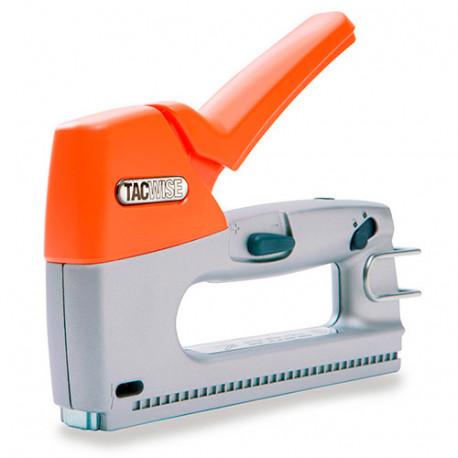 Agrafeuse cloueuse manuelle Z3-13 en métal, agrafes type 13 et clous calibre 180 - Tacwise - 0880