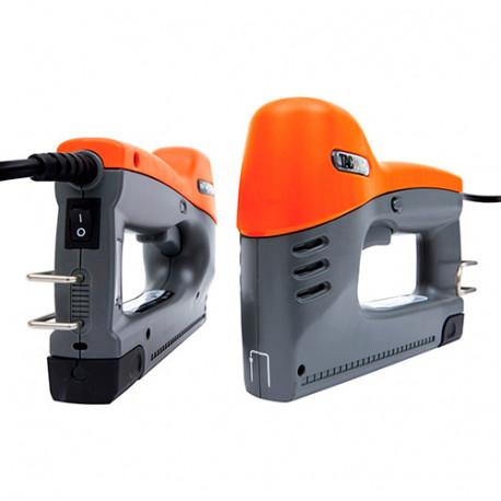 Agrafeuse cloueuse électrique Hobby 140EL 1380 W, agrafes 6 - 14 mm type 140, clous calibre 180 - Tacwise - 0928