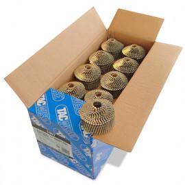 Boîte de 14 400 clous à tête ronde, annelés en rouleau D. 2,1 x 45 mm - Tacwise - 1007