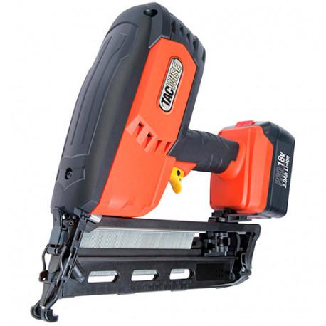 Cloueur de finition sans fil 18 V pour clous de 32 - 64 mm calibre 160 (16 gr) à 20° - Tacwise - 1243