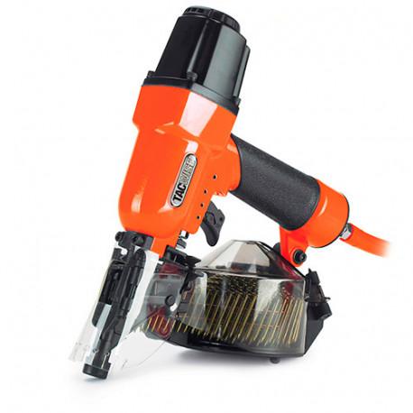 Cloueur pneumatique 8,3 bar pour clous en rouleau L. 22 - 50 mm - Tacwise - DCN50LHH