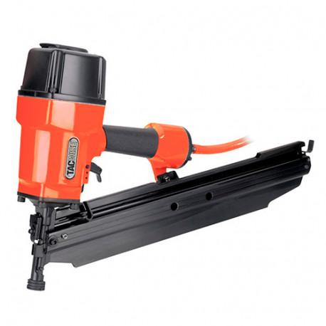 Cloueur pneumatique 8,3 bar pour clous en bande oblique à 22° L. 50 - 90 mm - Tacwise - JSN90MHH