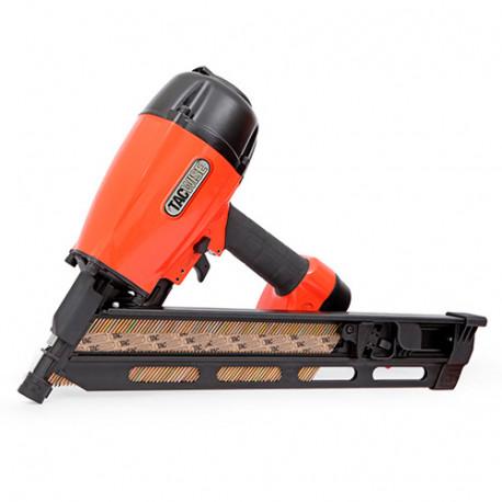 Cloueur pneumatique 8,3 bar pour clous en bande oblique à 34° L. 50 - 90 mm - Tacwise - KDH90V