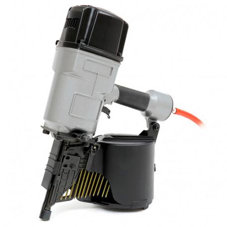 Cloueur pneumatique 6,9 bar pour clous en rouleau L. 75 - 130 mm - Tacwise - LCN130V