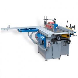 Combiné à bois L. 250 mm 230 V 3 moteurs - COMB250-MONO - Jean L'ébéniste