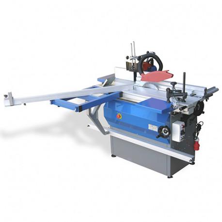 Toupie scie arbre D. 300 mm et lame D. 250 mm 230 V 2x2200 W- TS1200I - Jean L'ébéniste