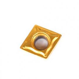 Plaquette de rechange CCMT0602 pour outils métaux - Métalprofi