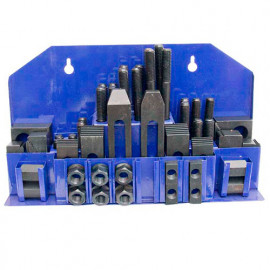 Ensemble 52 pcs de brides de serrage M10 - MB-SPES10 - Métalprofi