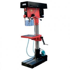 Perceuse à colonne D. 25 mm 2 vitesses 400 V 1100/1500 W avec pompe de lubrification - PC525P - Métalprofi