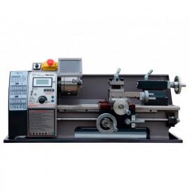 Tour métaux d'établi 400 mm avec variateur et affichage digital 230 V 600 W - WM210V-MONO - Métalprofi