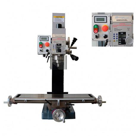 Perceuse fraiseuse métal D. 25 mm 230 V 750 W à vitesse variable - WMD25VBL - Métalprofi