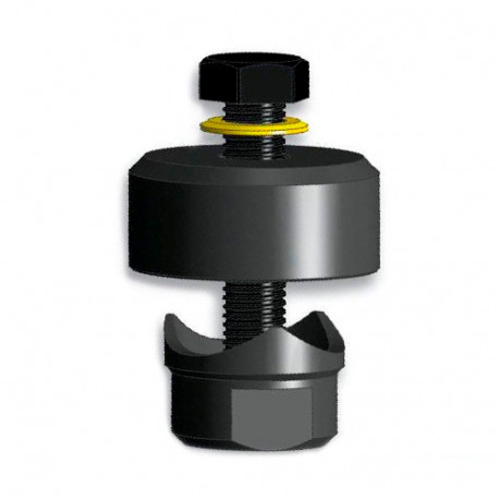 """Emporte-pièce à vis, tête hexagonale, D. 38 mm (1""""1/2) - 71538 - Piher"""