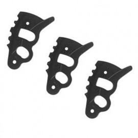 6 lames plastique de rechange pour tête universelle ZI-BR3 - 10001748 ZIPPER