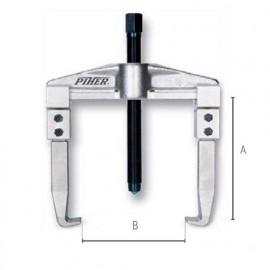 Extracteur d'engrenage 2 griffes réversibles L. 100 mm - 72015 - Piher