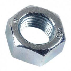 Ecrou hexagonal M16 mm HU Zingué - Boite de 50 pcs - fixtout 01081602B