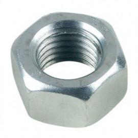 Ecrou hexagonal M10 mm HU Zingué - Boite de 100 pcs - fixtout 02081002B