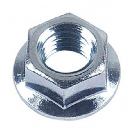 Ecrou hexagonal à embase crantée M12 mm Zingué - Boite de 100 pcs - DIAMWOOD 07081202B