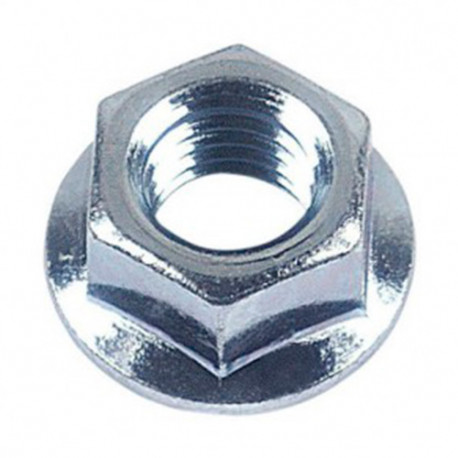 Ecrou hexagonal à embase crantée M16 mm Zingué - Boite de 50 pcs - DIAMWOOD 07081602B